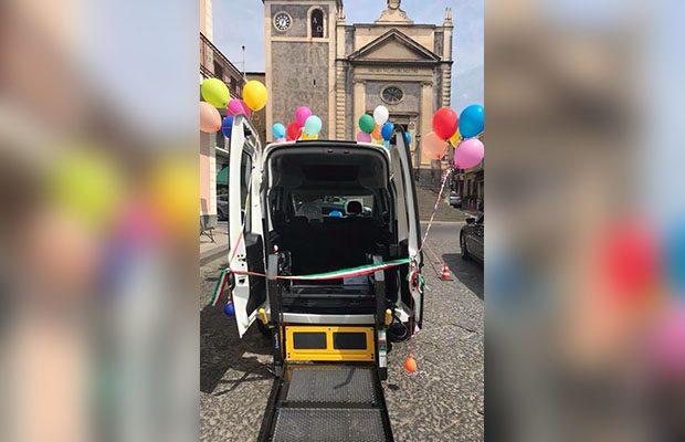 """""""Taxi sociale"""" gratuito per anziani e disabili a Ragalna e Belpasso"""