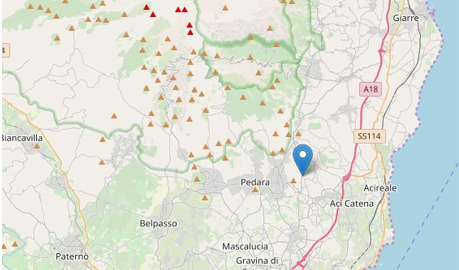 Terremoto. Magnitudo 4.8 nel catanese