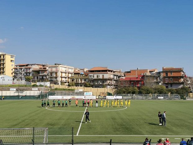 Calcio. Il Biancavilla cede al Palazzolo nel big match della 28^ giornata di Eccellenza