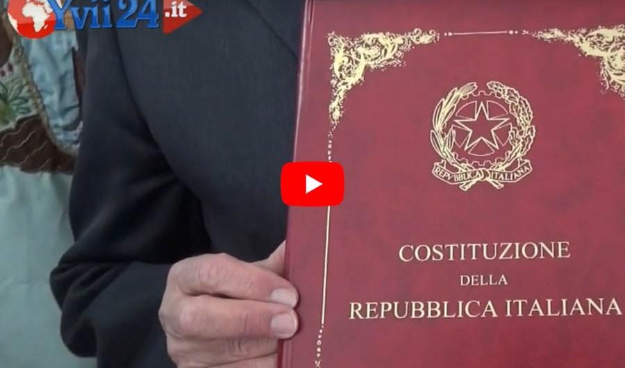 Adrano. Consegnata la Carta Costituzionale