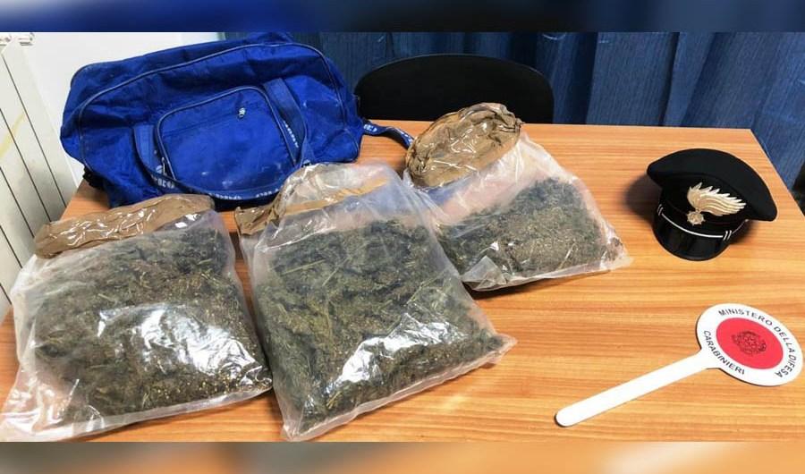 Paternò. Controllo del territorio: sequestrati due chili di marijuana