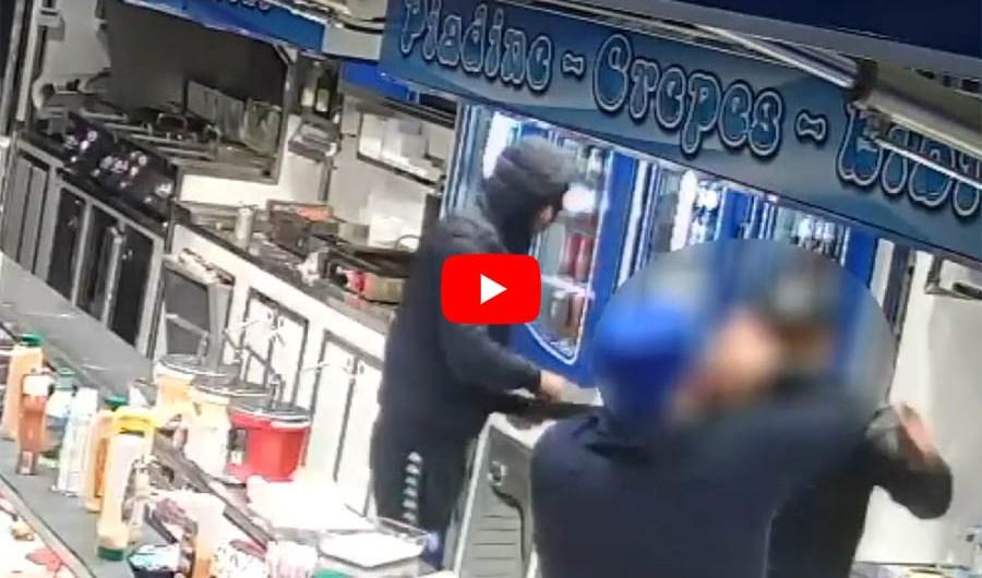 Misterbianco. Due arresti per rapina con aggressione in panineria (VIDEO DELLA RAPINA)