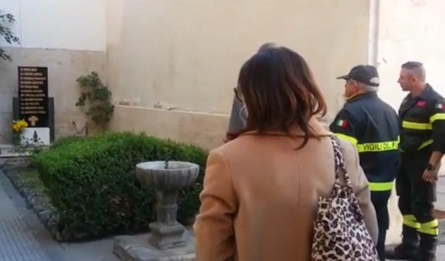 Catania. Prefetto visita sede Comando provinciale Vigili del Fuoco