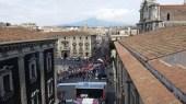 La partenza da Catania (foto di Luigi Crispi)
