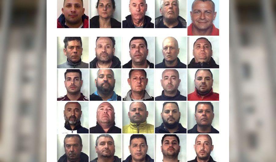 """Operazione """"Gisella"""": arrestati 26 presunti esponenti del clan """"Nicotra"""" di Misterbianco"""