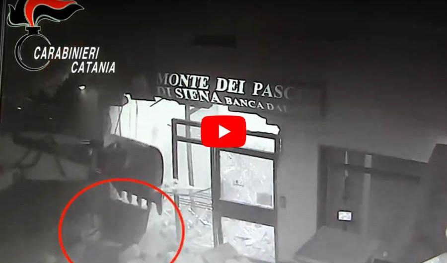 """""""Spaccate"""" ai bancomat: arrestati 5 catanesi (VIDEO ASSALTI ALLE BANCHE)"""