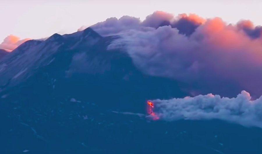 Etna, l'eruzione è terminata