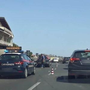 Misterbianco, incidente sulla statale 121