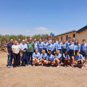 """Belpasso. Gli scout di San Vito al Tagliamento, ospiti della cooperativa Libera Terra """"Beppe Montana"""""""