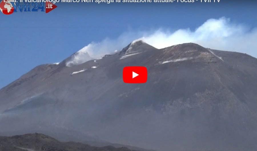 Etna. Il vulcanologo Marco Neri spiega l'attuale fase