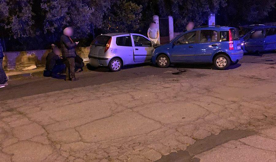 Santa Maria di Licodia. Incidente su via Aldo Moro. Tre feriti