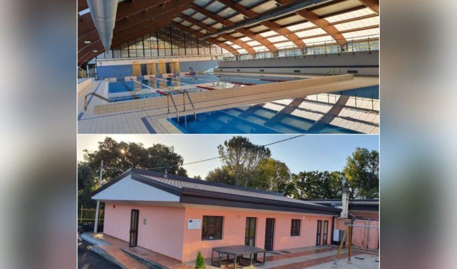 Ragalna. Inaugurati asilo nido e piscina comunale