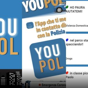 Youpol, l'app della Polizia contro la violenza domestica