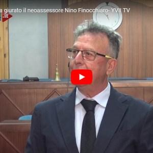 Biancavilla. Ha giurato Nino Finocchiaro, nuovo assessore di Bonanno (VIDEO E INTERVISTA)