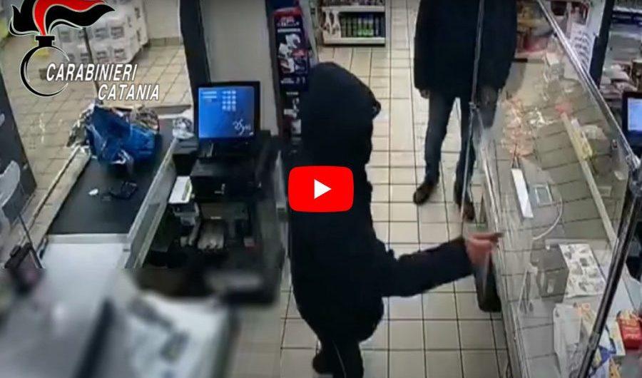 Paternò. Rapina a supermercato, arrestati tre minorenni (VIDEO RAPINA)