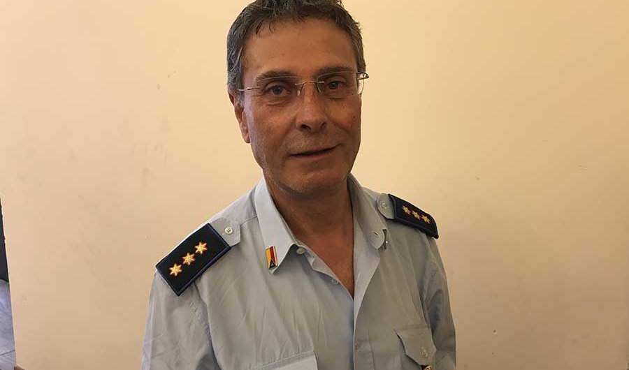 Santa Maria di Licodia. Il comandante della Polizia Municipale Aricò va in pensione