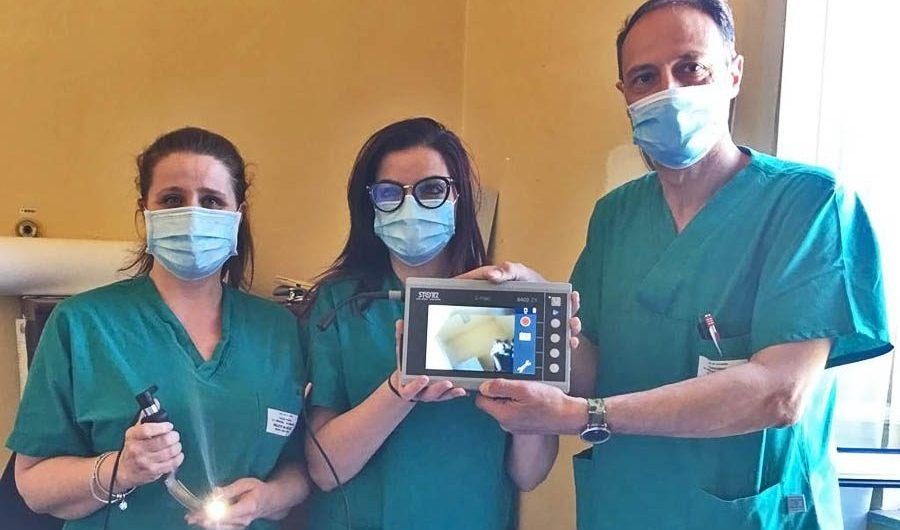 """Paternò. Il Distretto Agrumi di Sicilia dona un video-laringoscopio all'ospedale """"SS. Salvatore"""""""