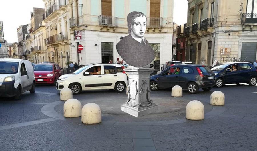 """""""L'alternativa per Paternò"""":  statua di Giovan Battista Nicolosi ai """"Quattro Canti"""""""