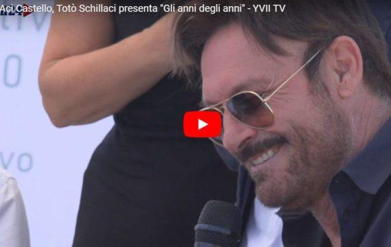 """Aci Castello: """"Gli anni degli anni"""" Tòtò Schillaci presenta il suo primo disco (VIDEO)"""