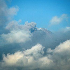 Etna. Incremento attività esplosiva dal Nuovo Sud Est e Voragine