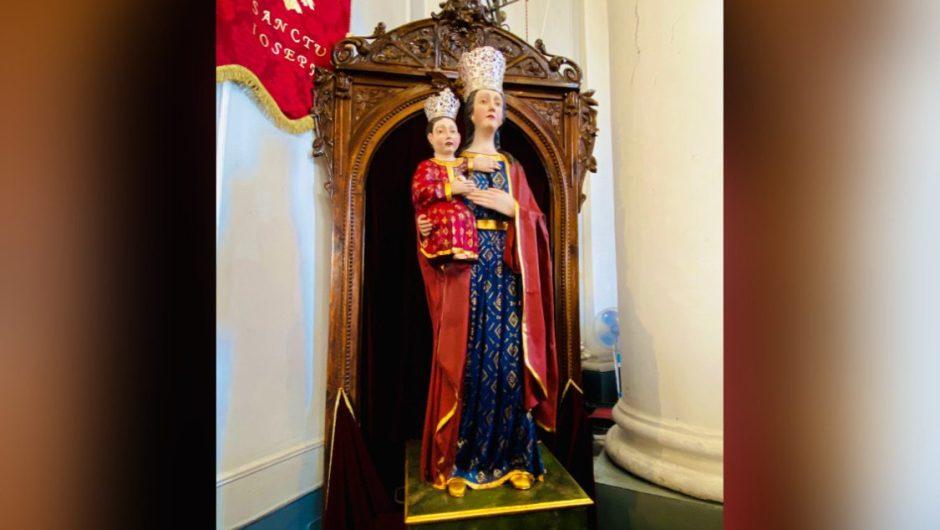 """Fede-Arte. La nuova statua di """"Maria Santissima di Licodia"""""""