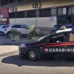 Controllo del territorio dei Carabinieri nella giurisdizione della Compagnia di Paternò