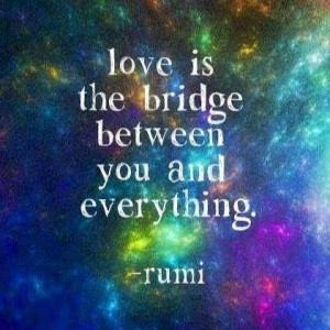 Love is a bridge