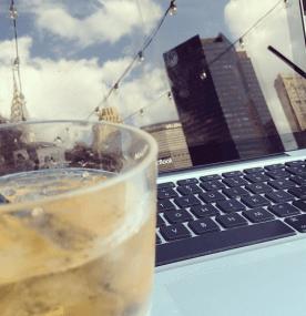 NYC bourbon writing reflections