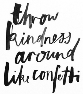 kindness confetti