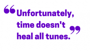 time doesn't heal all tunes