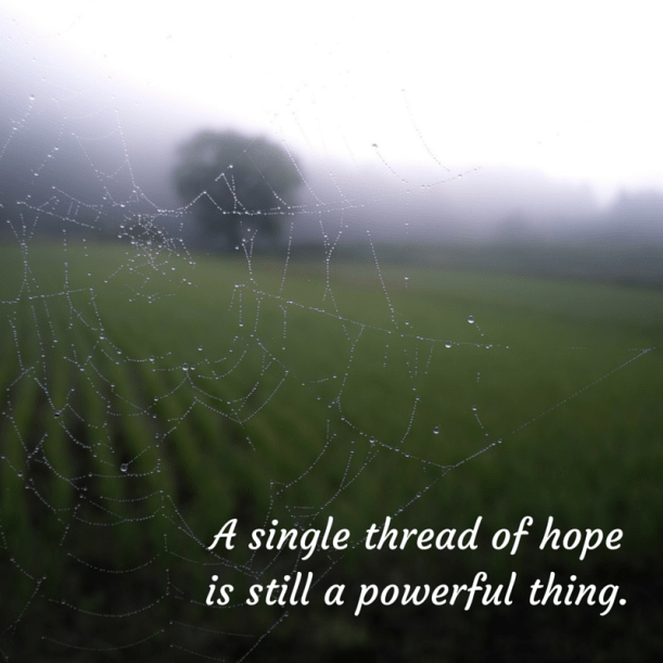 thread of hope - white