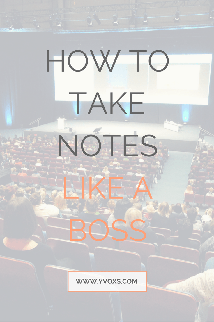Don't miss anything during your lectures or meetings by implementing these note-taking tips! #tips #career #meetings #students