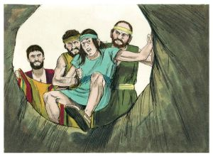 Joseph thrown in the pit