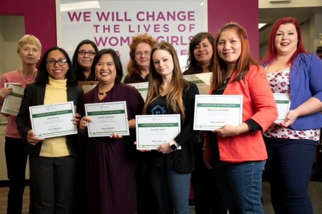 Women's Entrepreneurship Program graduates 2018