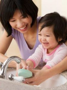 Handwashing All Day Keeps the Flu Virus Away: How to help keep the children in your care flu free