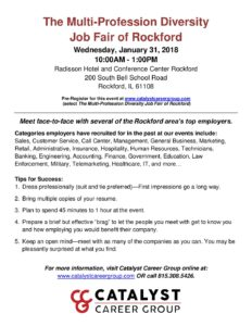 (English) The Multi-Profession Diversity Job Fair of Rockford