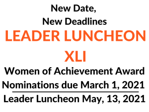 YWCA Northwestern Illinois Extending Deadline for Nominations for the 2021 Women of Achievement Awards