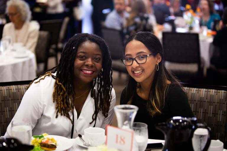 Two women at Sweet Success 2019