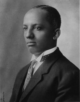Photo of Dr. Carter G. Woodson
