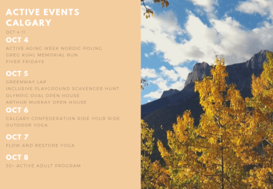 Active Events in Calgary Oct 4-Oct 11