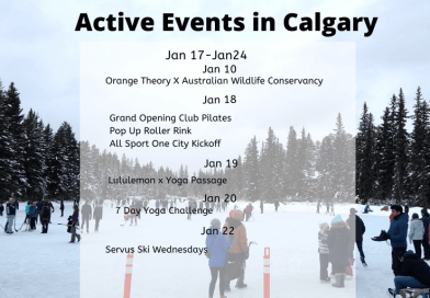 Active Events in Calgary Jan 17-24
