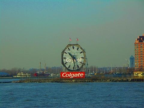 NY- Colgate Clock
