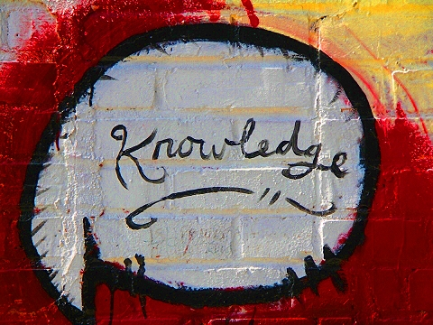 NY- Graffiti on Avenue C, Lower East Side