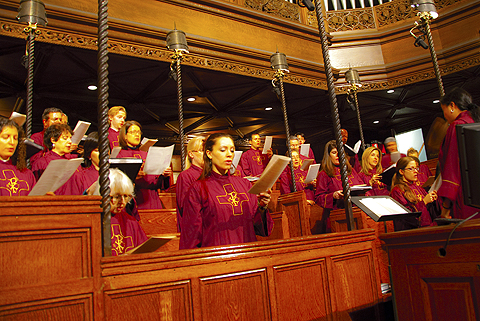 Image result for choir in choir loft