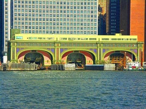 NY- Old Staten Island Ferry Termainal Buiding