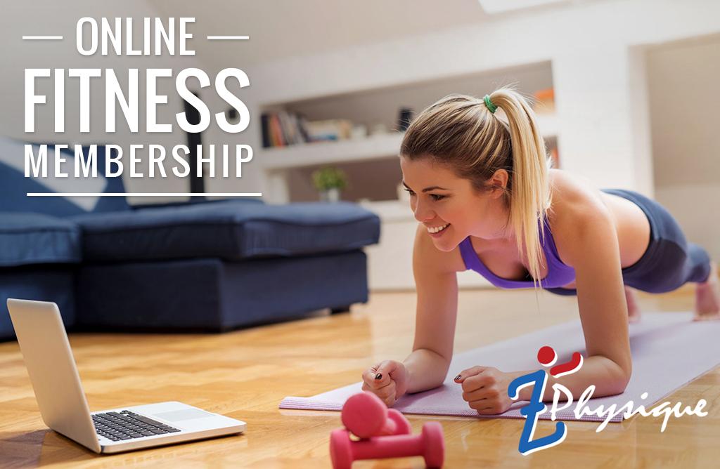 online fitness membership