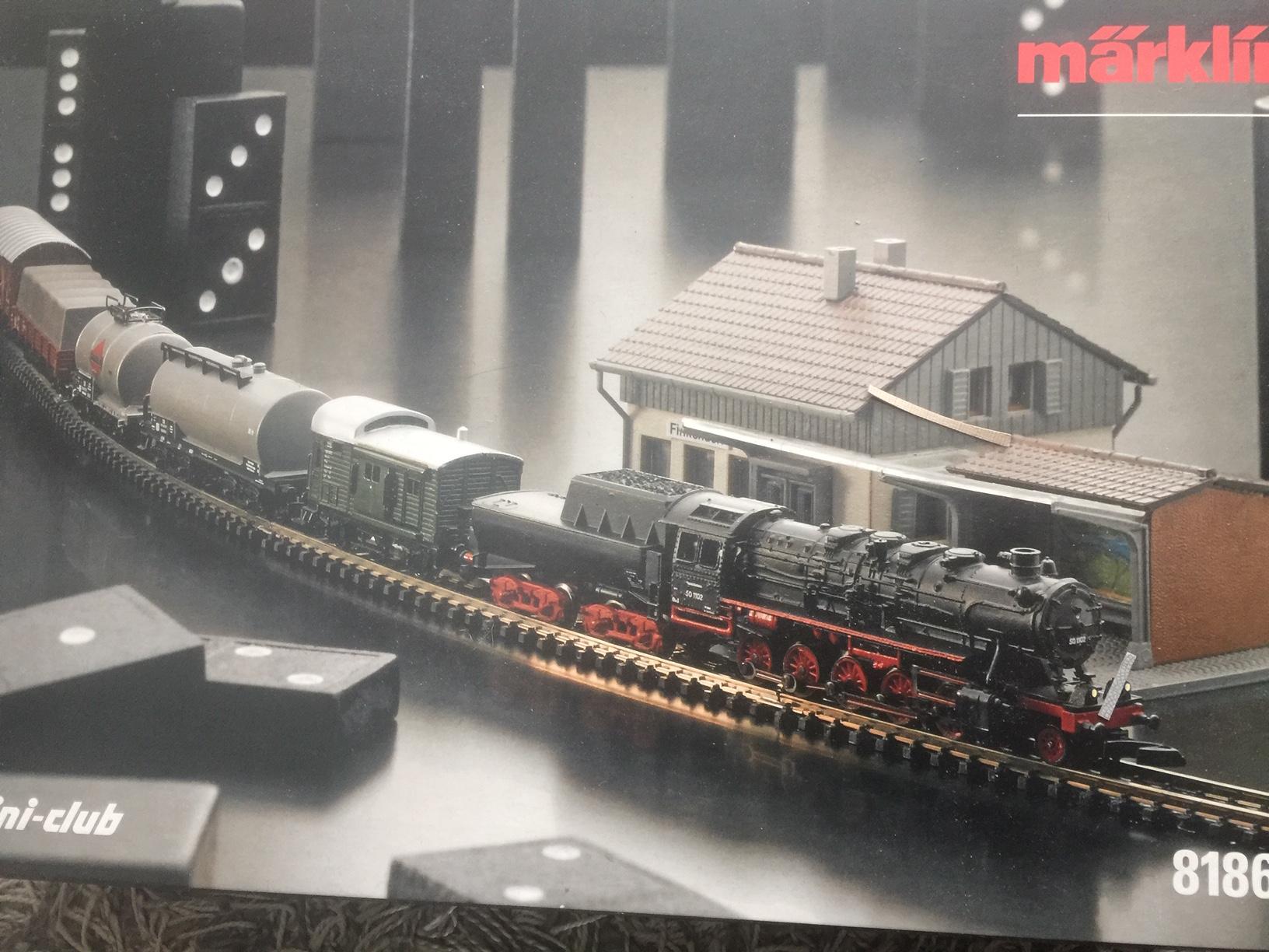 MärklinZ startset goederentrein van de DB.2