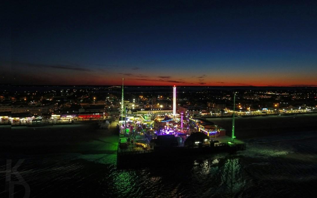 Casino Pier at Night