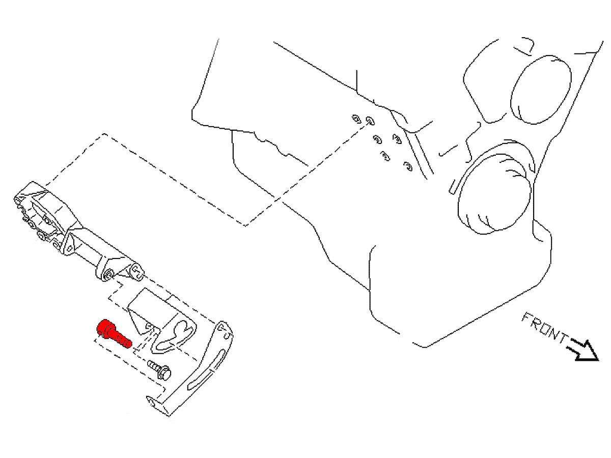 Oem Power Steering Adjustment Bolt