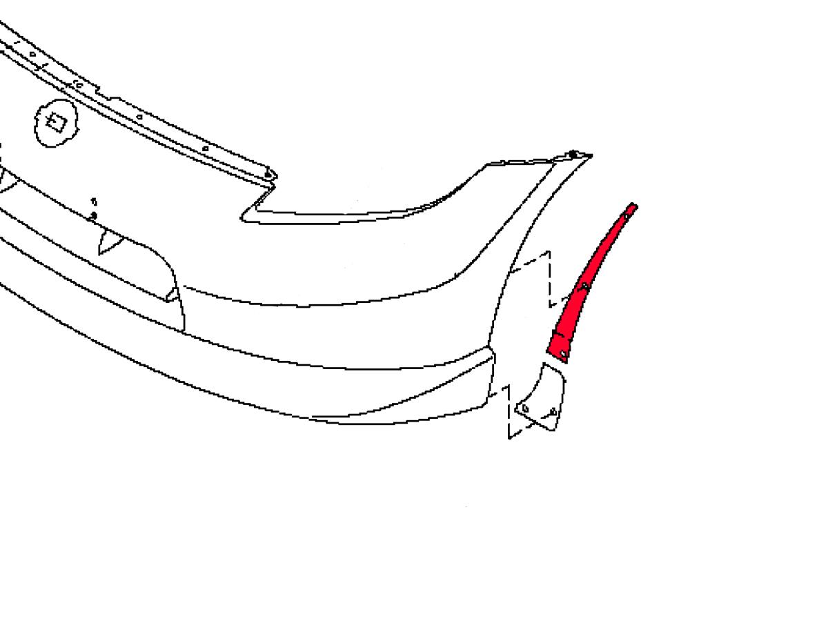 Oem 370z Nismo Front Bumper Corner Protector Z1 Motorsports